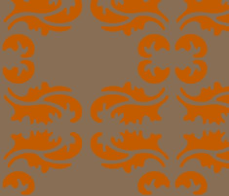 damask fabric by holli_zollinger on Spoonflower - custom fabric