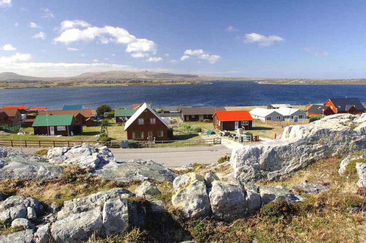 Stanley, Falkland Islands - by © FIG, Stanley waterfront - falkland_islands:Flickr