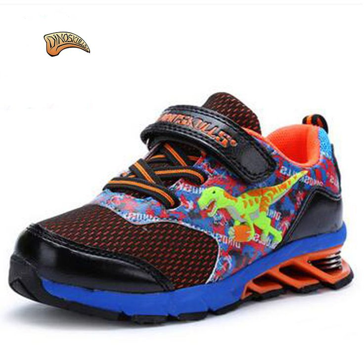 ==> [Free Shipping] Buy Best Dinoskulls 2017 Spring/Autumn Kids Sneakers Fashion Style 3D Dinosaur Baby Shoes Boys Breathable Non-slip Running Sports Shoes Online with LOWEST Price | 32815482104