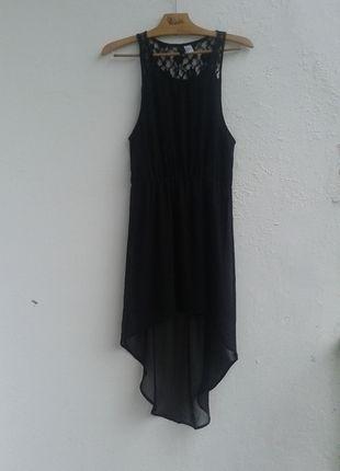Kup mój przedmiot na #vintedpl http://www.vinted.pl/damska-odziez/krotkie-sukienki/10161656-asymetryczna-czarna-sukienka-koronkowe-plecy