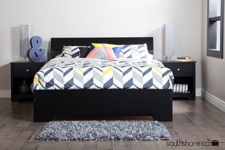 Chambre Bebe Couleur Gris :  Chambres Noires, Meubles De Chambre À Coucher et Meubles De Chambre