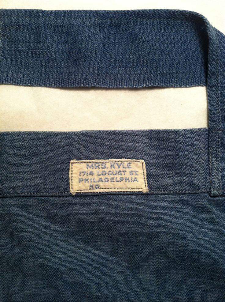 Vintage Mrs. Kyle woven label
