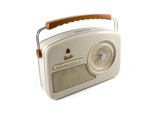 GPO RYDELL DAB Radio Creme - DAB+ Radio's - Radio's - 123platenspeler.nl