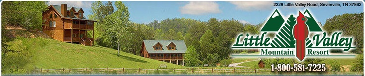 Little Valley Mountain Resort - this looks like a neat place with a lot of cabins to choose from- Smoky Mountains