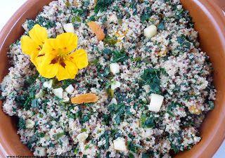 recept voor quinoa met pastinaak, abrikoos en palmkool - bijnanetzolekkeralsthuis.nl