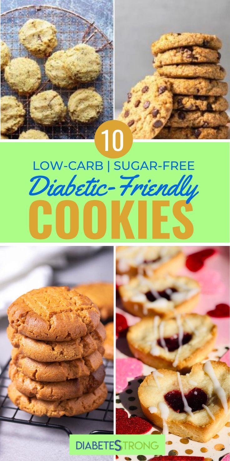 10 Diabetic Cookie Recipes Low Carb Sugar Free In 2020 Low
