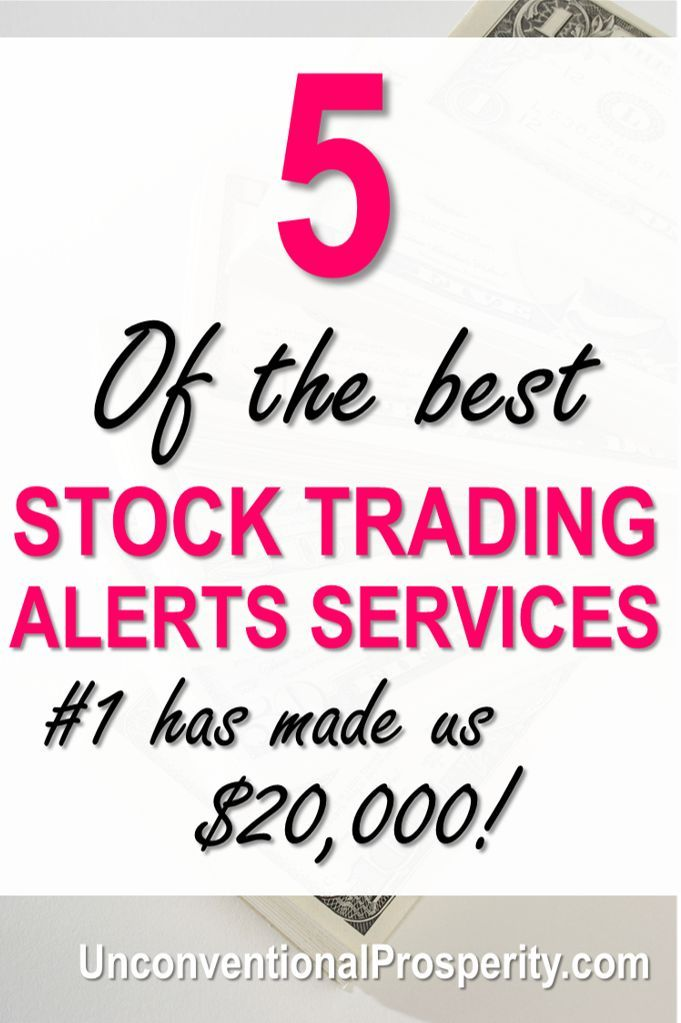 The 5 Best Stock Trading Alerts Services – Unconventional Prosperity