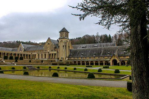 Abadía de Orval en Bélgica
