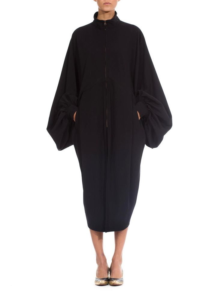 Early Issey Miyake Draped Kimono Coat