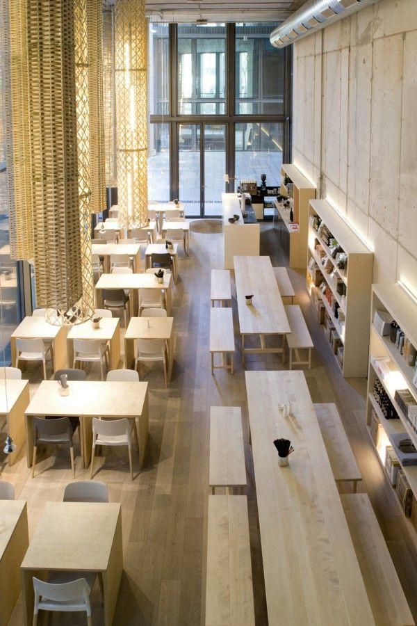 Atmósfera industrial y diáfana en el restaurante El Japonés@22, de Sandra Tarruella