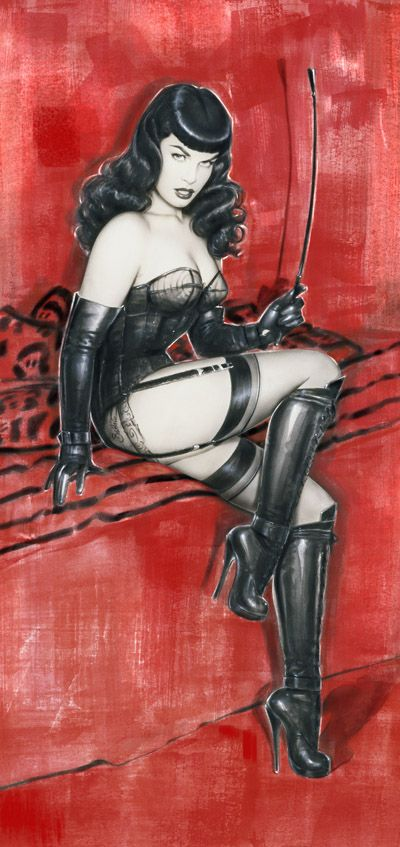 BETTIE PAGE MOVIE POSTER 1   Limited Edition by Olivia De Berardinis $100 +.... Want want want
