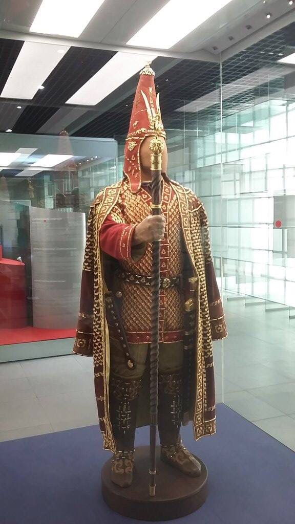Skythian/Saka. Golden man. National museum, Astana, Kazakhstan