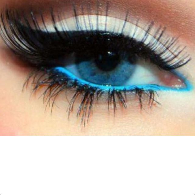 Eye makeup for blue eyesProm Eye Makeup For Blue Eye, Stunning Eye, Makeup Ideas, Hair Makeup, Blue Eye Pop, Blue Eye Makeup, Bright Blue, White Eye, 640640 Pixel