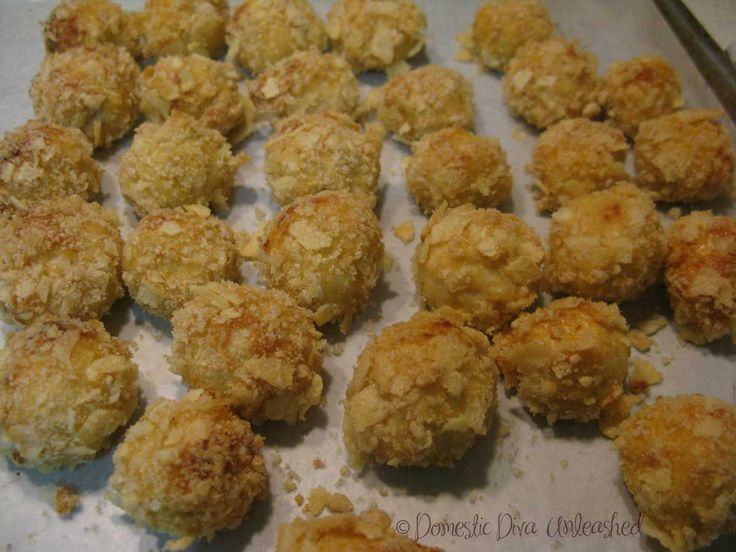 "Crunchy Chicken bites... a failsafe diet version ""popcorn"" chicken."