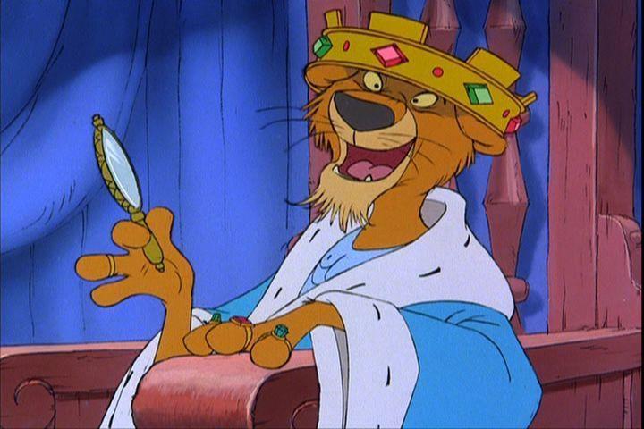 "Disney character from ""Robin Hood""...Prince John"