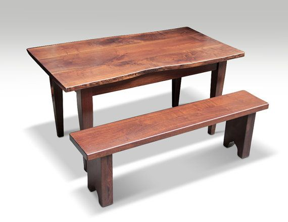 Table And Bench Also Available Separately Made To Order See Additional Sizes Above Standard 34 In