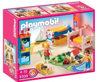 Amazon.com: PLAYMOBIL Boy and Girl Room: Toys & Games 22.08 mylee and collin