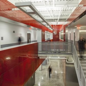 Architectural Lighting Works Lightplane 11 (LP11), Fire Station #27, Dallas, TX — Perkins & Will (Architects), Architectural Lighting Alliance (Lighting Rep), Thomas McConnell (Photographer) ©2015 Thomas McConnell, all rights reserved
