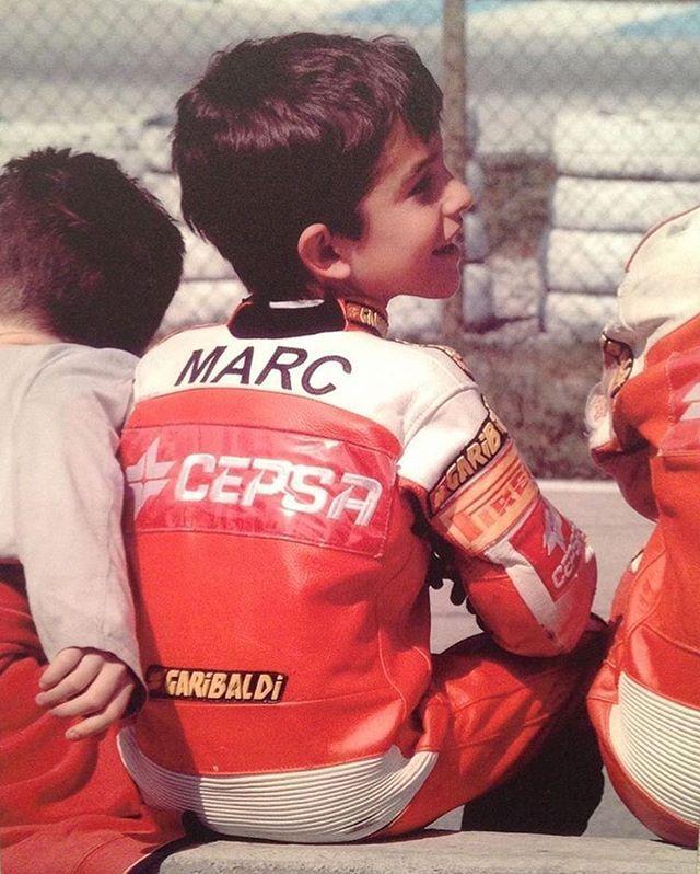 Mini Marc Márquez!! Qué gracia... está precioso <3
