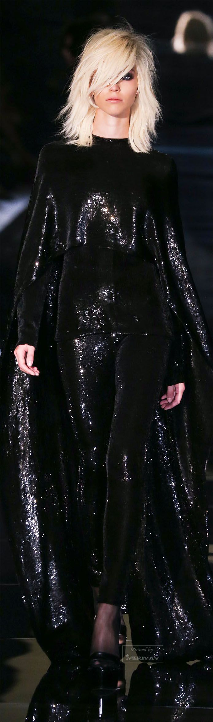 tom ford pretty all sequins and classy. ah not a whole lot of room for our styling but if you think there is euen with a piece like this ide loue to see and then ill post it ok please