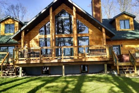 Check out this awesome listing on Airbnb: Serenity at Long Lake - Houses for Rent in Longville