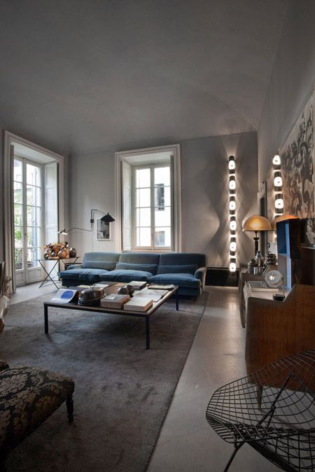 Built in the 18th century, it's now owned by designers Britt Moran and Emiliano Salci of Dimore Studio