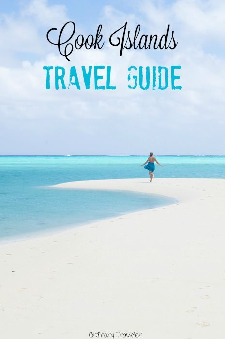 The Ultimate Cook Islands Travel Guide. Who wouldn't want to sink their toes into the sand on the lovely beaches of the Cook Islands?