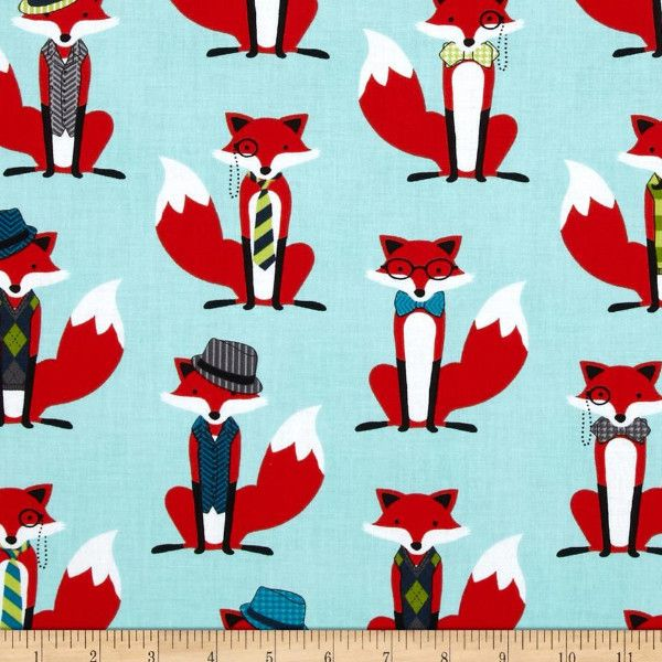 Fox and the Houndstooth Fabric to sew