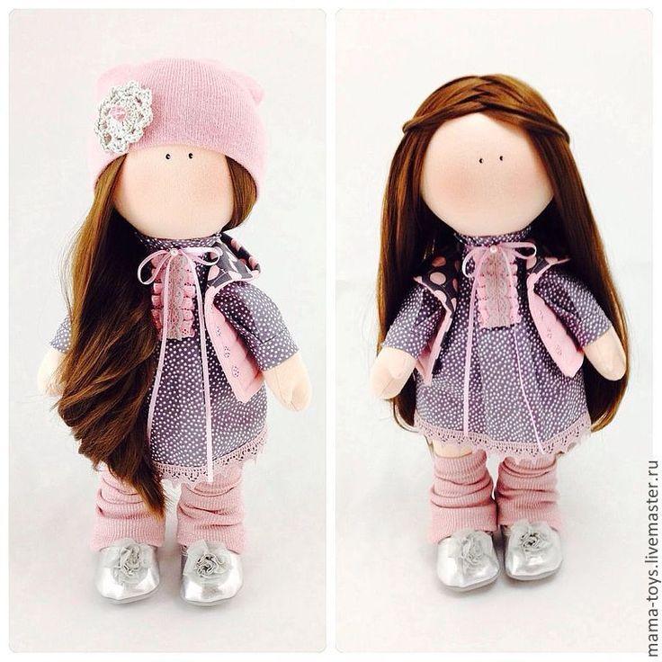 Купить Интерьерная кукла Моника - кукла с большими ногами, Снежка, интерьерная кукла, коллекционная кукла