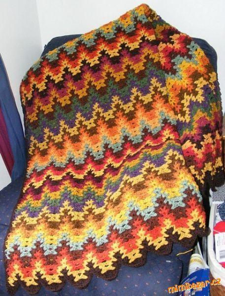 Афганская вязка Схема - Вязание крючком - Вязание - Каталог статей - Домовой