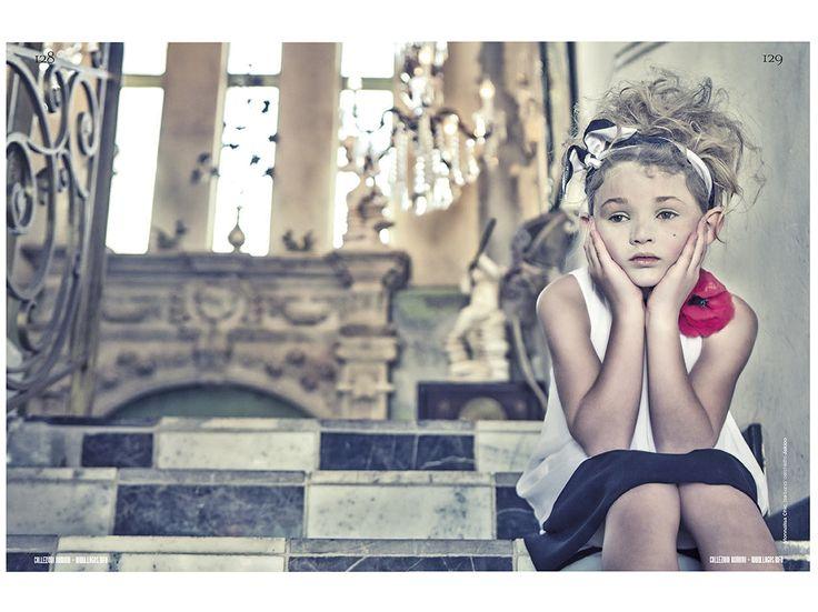 Collezioni magazine kids fashion shoot by Gerard Harten for spring kidswear 2014
