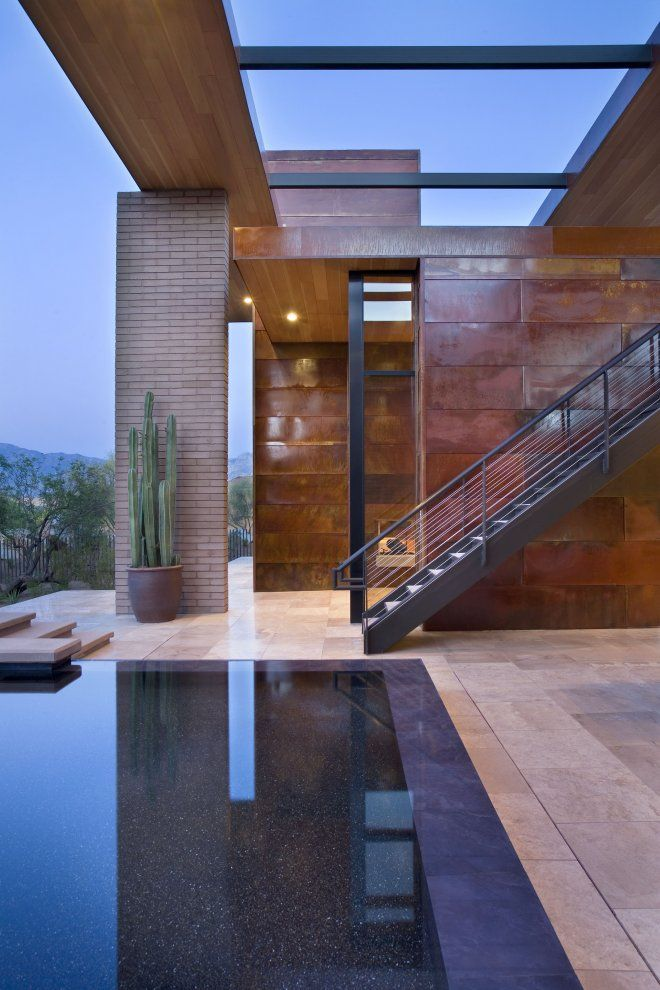 Desert Residence - A project by Kevin B Howard Architects inc.