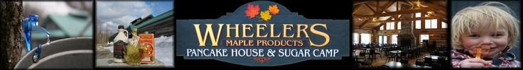 Wheelers Maple Syrup Camp & Pancake House- A Sugar Bush in Lanark County, Eastern Ontario, Canada