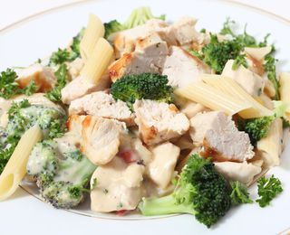 Chicken and Broccoli-Parmesan Pasta