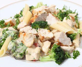 Chicken and Broccoli-Parmesan Pasta