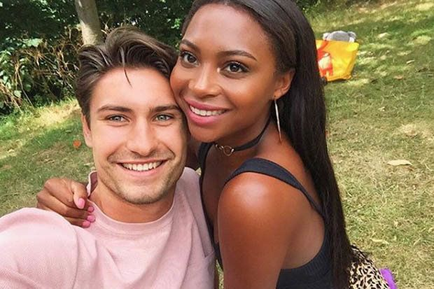 Frankie Foster And Samira Mighty On Love Island Interracial Couples Bwwm Couples Interracial Couples