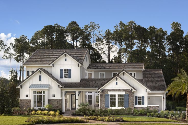 La Rocque Model by David Weekely Homes in The Island at Twenty Mile
