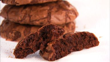 Double Chocolate and Espresso Cookies - Giada De Laurentiis: Food Network, Giada De Laurentiis, Sweet, Chocolate Espresso, Easy To Follow Double, Chocolates, Double Chocolate, Cookies Recipe, Espresso Cookies