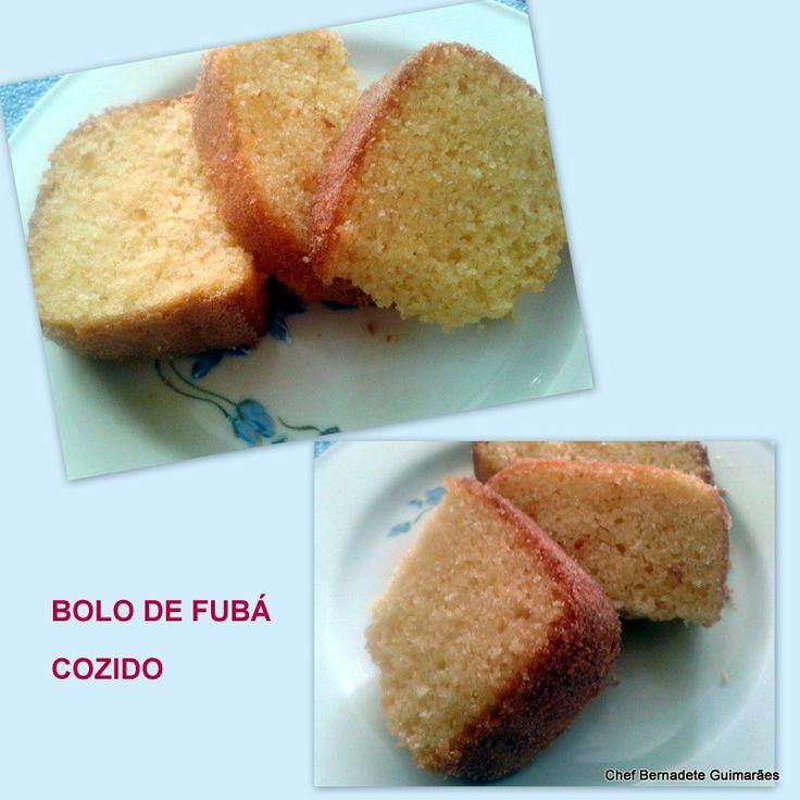 bolos, bolo de fubá bolo de fubá cozido, fubá de milho, receitas mineiras, culinaria de Minas Gerais,