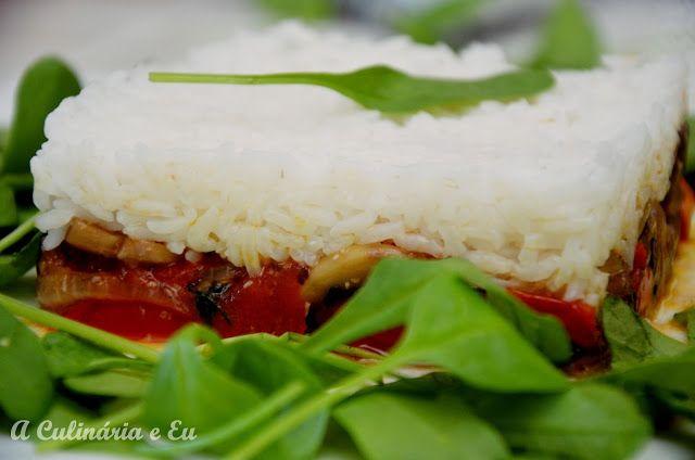 A Culinária e Eu ...: Empadão simples de Arroz & Legumes salteados