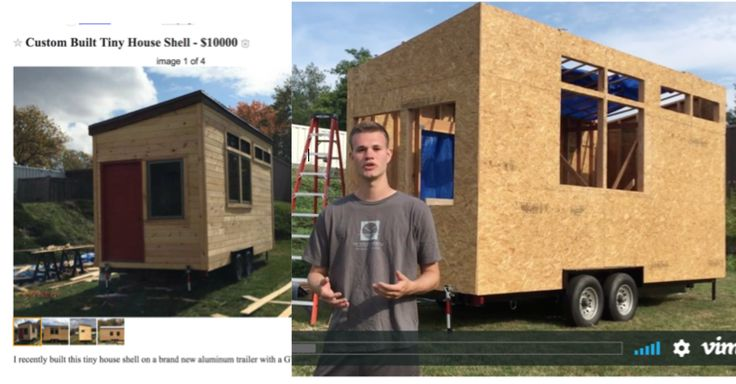 Hampshire College SJW Says He's Donating Sale Of Tiny House To Charity After We Exposed That He's Selling It On Craig's List For $10K After Raising $11K And Promising To Give It To Syrian Refugees