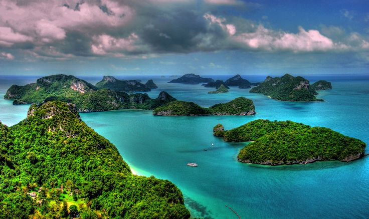 The jewel of the Gulf of Thailand Ang-thong National Marine Park