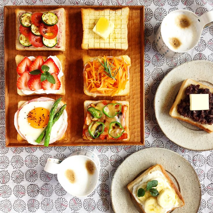 朝ごはん。Breakfast