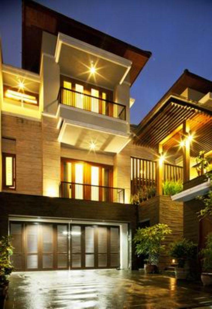 Modern Balinese Architecture Modern House