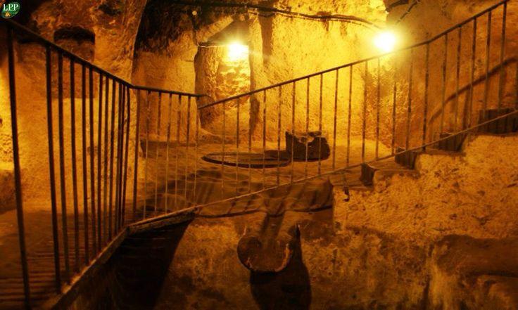 Derinkuyo - La ciudad subterranea, Capadocia, Turquia.
