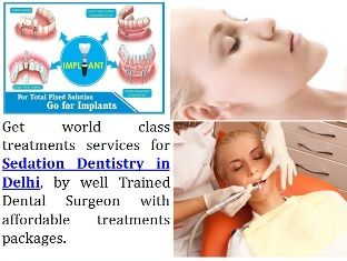 Visit expert dental implant clinic for Sedation Dentistry in Delhi. http://www.delhi-dentist-implant.in/painless-tooth-removal-disimpaction-in-delhi.html