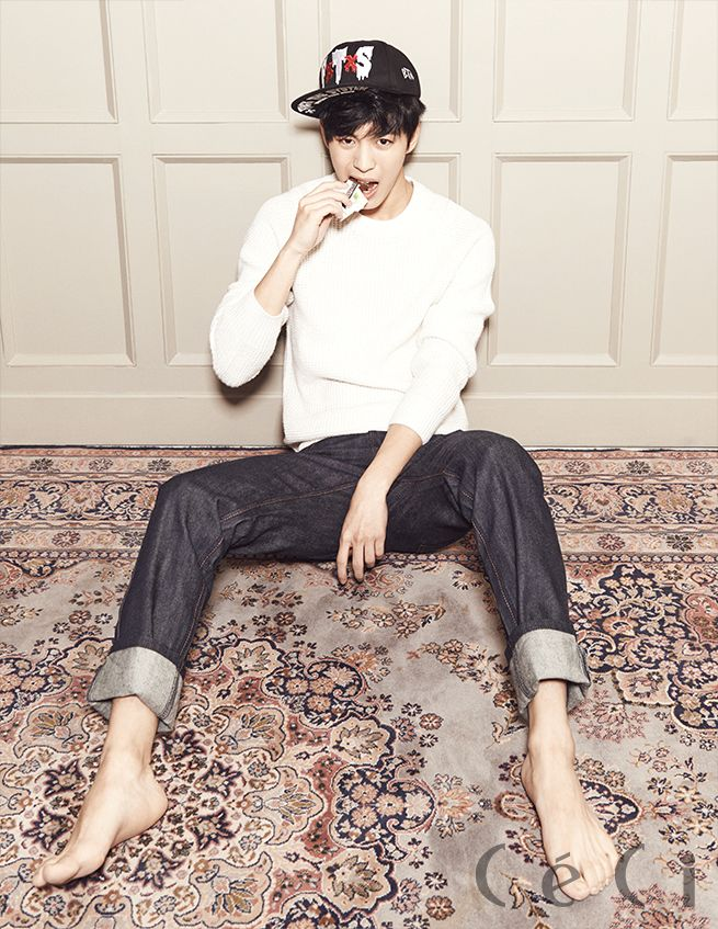 Hong Bin - Ceci Magazine January Issue '14