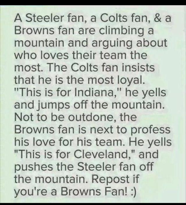 Haha! #browns #cleveland