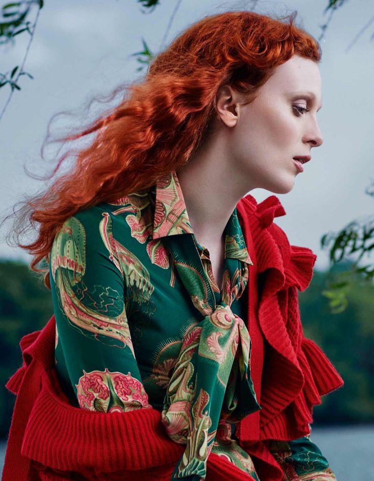 Карен Элсон в фотосессии Рэйчелл Смит для «Harper's Bazaar» Россия, август 2016. http://fashioneditorials.ru/rehjjchell-smit-harpers-bazaar-rossiya-avgust-2016/