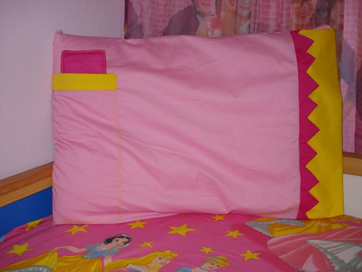 Made to order pillowcase with pocket (sheet and pillow) for sleeping doll !!!!